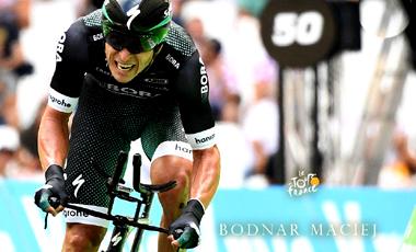 2017年ツール・ド・フランス 第10テージ優勝のマチェイ・ボドナル
