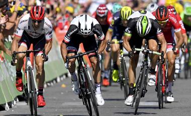 2017年ツール・ド・フランス 第10テージ優勝のマイケル・マシューズ