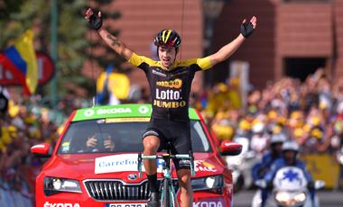 2017年ツール・ド・フランス 第10テージ優勝のプリモシュ・ログリッチ