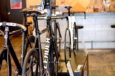 スポーツ自転車の個人専門店イメージ