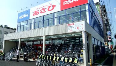 スポーツ自転車のチェーン型量販店イメージ
