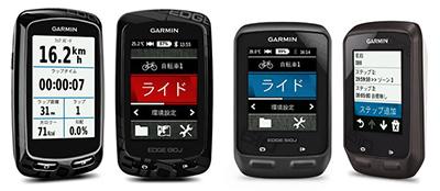 ガーミン/Garminのサイクルコンピュータ(サイコン)