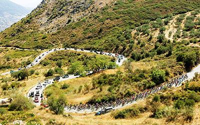 ブエルタ・ア・エスパーニャは厳しい山岳ステージが多い