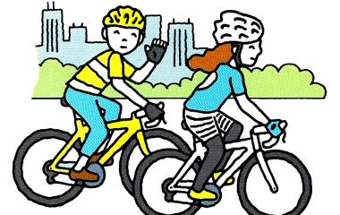 街乗り or ゆっくりサイクリングのサイクルウェア選び