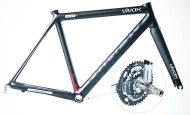 ロードバイクに組めるモーター「VIVAX assist」