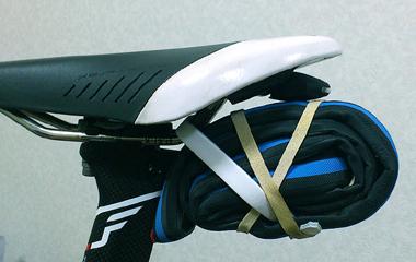チューブラータイヤのパンク対策 交換用タイヤ