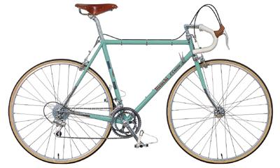 ビアンキのクラシックスタイルロードバイク クロモリ L'EROICA