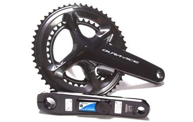ロードバイクのパワーメーター ステージズ/LR Dual Power Meter