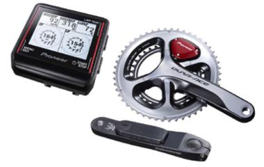 ロードバイクのパワーメーター パイオニア/ペダリングモニターZ ULTIMATE SILVER