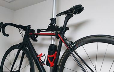 テールライト PWT アルミCNCをロードバイクに取り付け