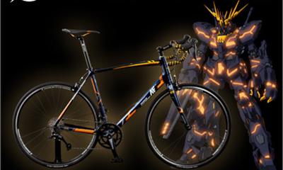 アナハイム・エレクトロニクス社製ロードバイク ユニコーンガンダム2号機バンシィ・ノルン RB-ALB01(アルミフレーム)