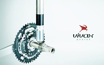 ロードバイクに搭載できる電動モーター VIVAX assist
